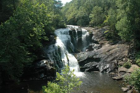 Bald River Falls, Cherokee National Forest, Tellico Plains, TN, 08/05
