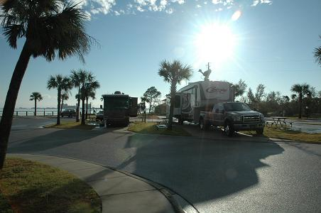 Emerald Beach RV Resort, Navarre Beach, FL, 11/05