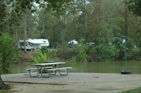 Foscue Creek Corps of Engineers Campground, Demopolis, AL, 09/05