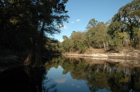 Suwannee River from the Stephen Foster Folk Culture Center State Park, White Springs, FL, 11/05